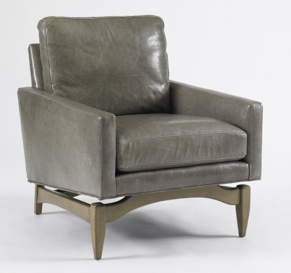 Irving Leather Chair contemporary-armchairs-and-accent-chairs