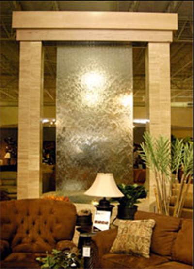 Indoor custom water feature ideas indoor fountains for Indoor fountain design ideas