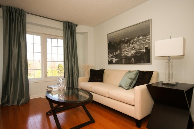 Decorating & Staging - The Mississauga Townhome contemporary-living-room