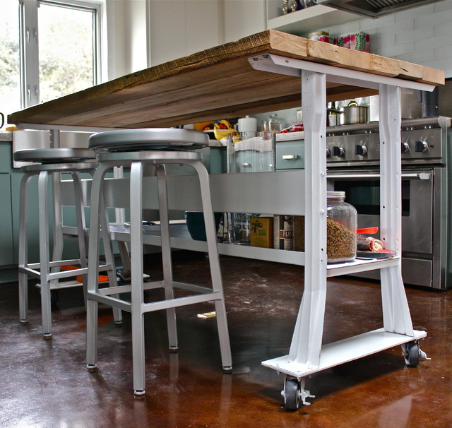 Small kitchen islands on wheels - Furniture And Kitchen Islands Contemporary Kitchen