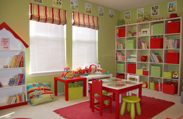 Playroom traditional