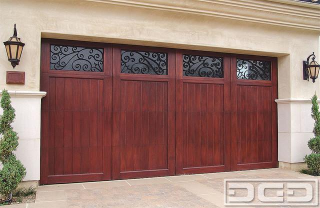 Mediterranean Revival 03   Carriage House Garage Door in ...