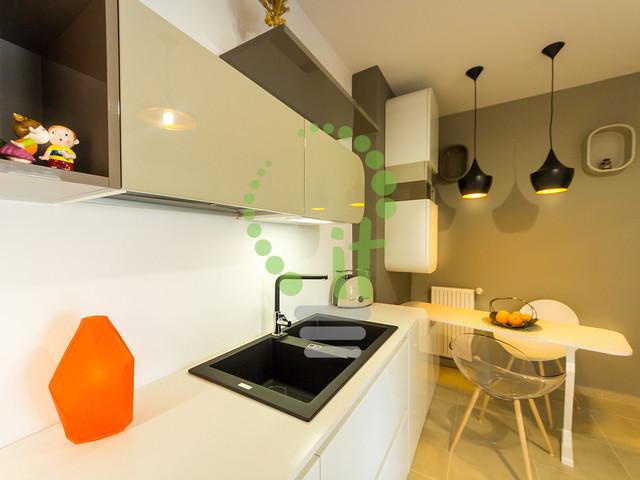 Emerald Apartment contemporary-kitchen