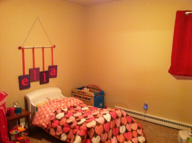 Redo Young Girl's Bedroom - BEFORE eclectic