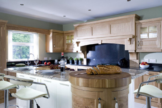 Oak And Ivory Traditional Kitchen Other Metro By Darren Morgan Designer Kitchen