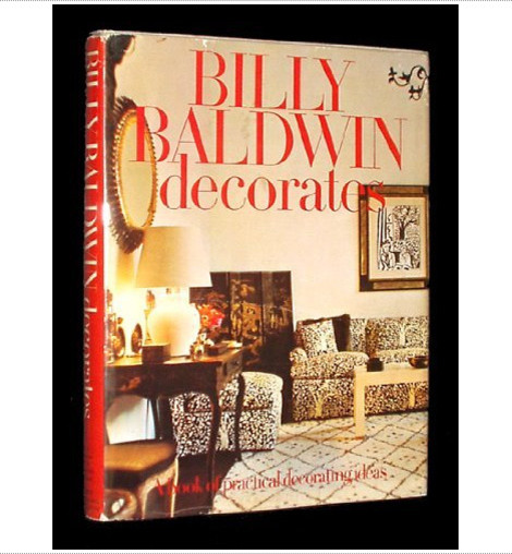 Billy Baldwin Decorates: A Book of Practical Decorating Ideas eclectic books