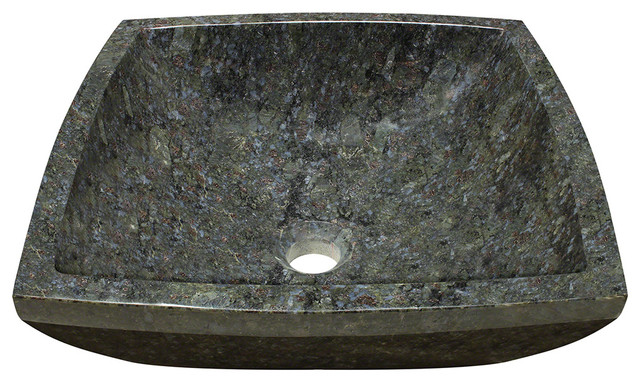 MR Direct 857 Butterfly Blue Granite Vessel Sink bathroom-sinks