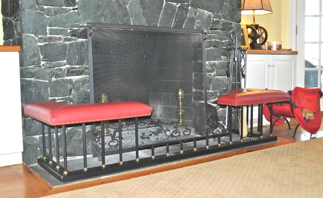 Throwleigh Club Fenders traditional-fireplaces