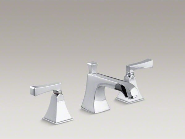 lavatory faucet with Stately design, red contemporary bathroom faucets