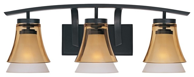 "Contemporary Majorca 26 1/2"" Wide Oil-Rubbed Bronze Bathroom Light"