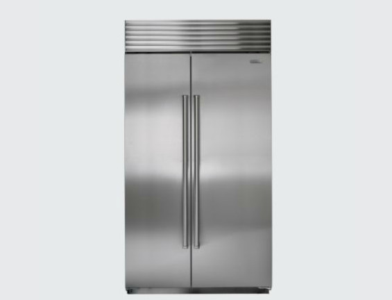 sub zero 42 side by side refrigerator contemporary by. Black Bedroom Furniture Sets. Home Design Ideas
