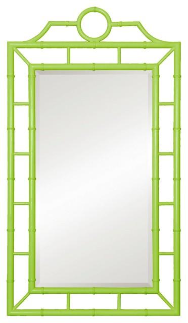 Bungalow 5 Chloe Mirror Green Modern Mirrors By