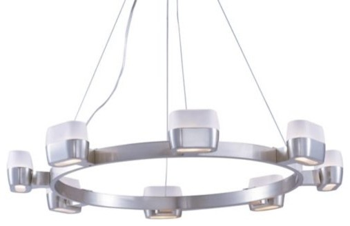 Ellipse Chandelier contemporary chandeliers