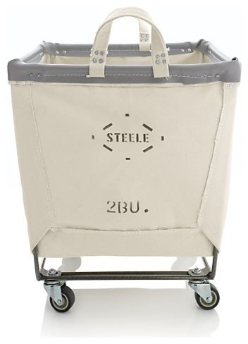 Steele Square Canvas Bin contemporary-hampers