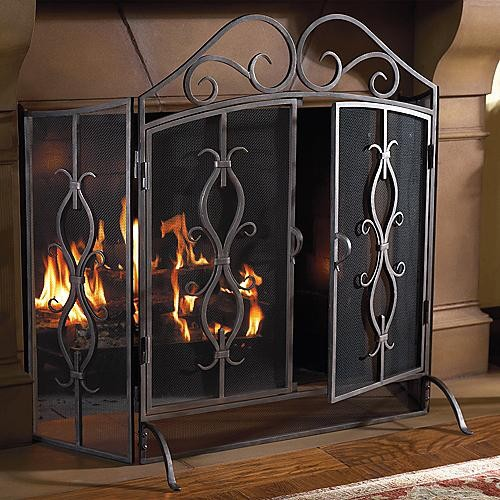 Cambridge Fireplace Screen Frontgate Traditional Fireplace Accessories By Frontgate