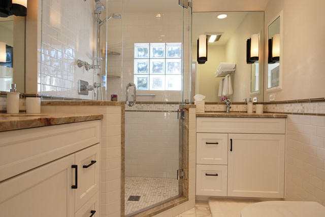 Good things come in small packages traditional-bathroom