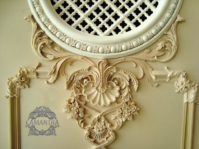 Ornamentation, decorative mouldings traditional