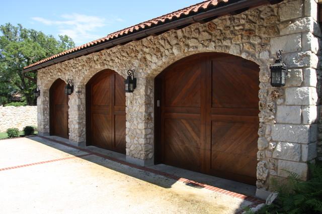 garage doors mediterranean austin by rick o 39 donnell