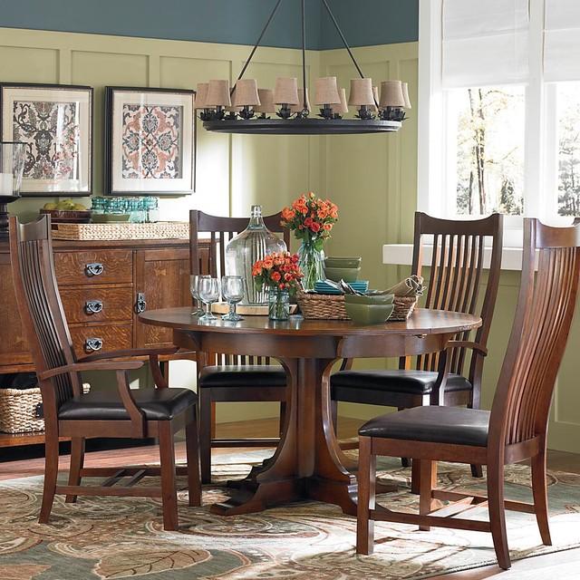 Bassett Furniture Gallery craftsman-dining-tables