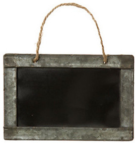 Framed Hanging Chalkboard contemporary-specialty-tools
