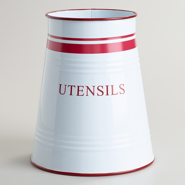 Enamel Utensil Crock modern-kitchen-products