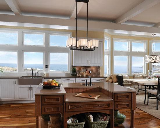 Interior Shots for Window Installs - Beach Front San Diego - Milgard Product Catalog