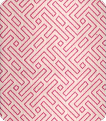 HL Belami Fabric in Raspberry contemporary upholstery fabric
