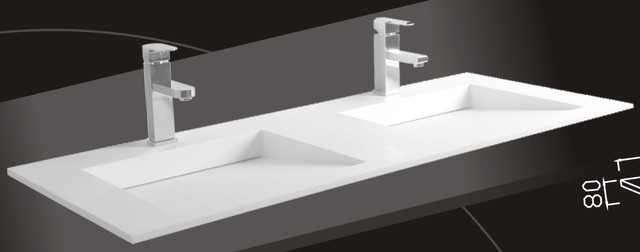 Model 1332 - Undermount Sink - Modern Bathroom Sinks ...
