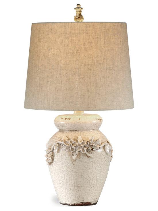 Bassett Mirror - Bassett Mirror Eleanore Table Lamp - Eleanore Table Lamp