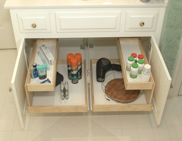 Shelfgenie Bathroom Pull Out Shelves Bathroom Cabinets And Shelves Other Metro By