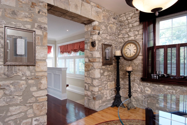 Stone Home Addition traditional