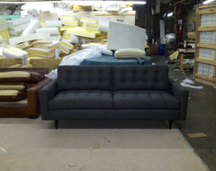 Paramount Sofa in Dark Grey eclectic-sofas