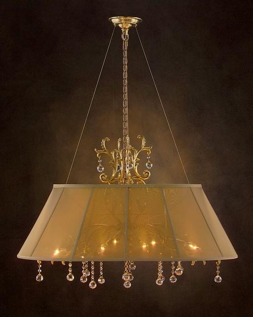 john richard 6 light chandelier ajc 8688 modern. Black Bedroom Furniture Sets. Home Design Ideas