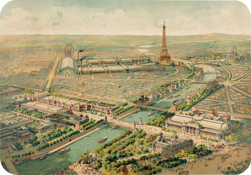 Vue panoramique de lExposition Universelle, 1900 by 20x200 Artist Fund contemporary artwork