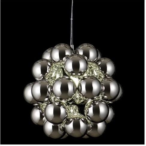 Beads Penta Pendant by Innermost contemporary-pendant-lighting