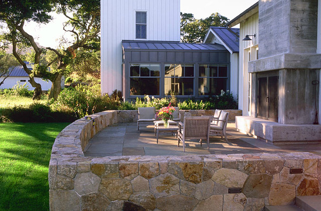 Beach House Landscape contemporary-patio