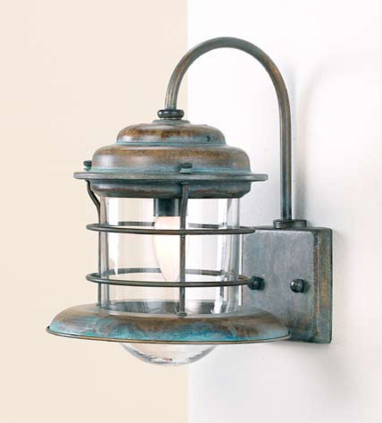 Tropical Bathroom Wall Sconces : Fredeco Nautical Sconce - Tropical - Wall Sconces - by Fredeco Lighting