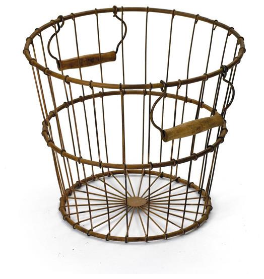 Vintage Farm Egg Basket farmhouse-baskets