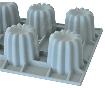 De Buyer Elastomoules Silicone Canele Mold 6 Portions