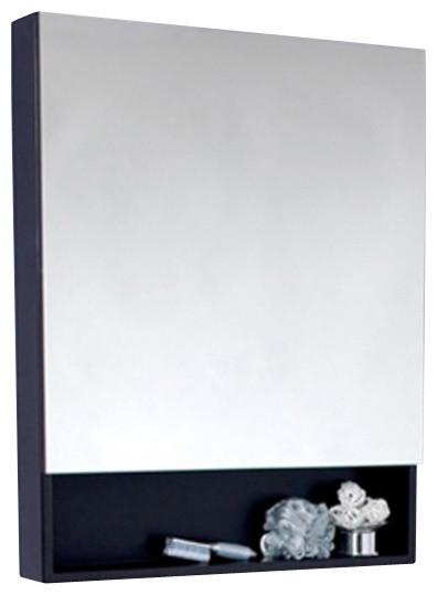 Fresca FMC3301ES-L Large Espresso Bathroom Medicine Cabinet W/ Small Bottom Shel modern-medicine-cabinets
