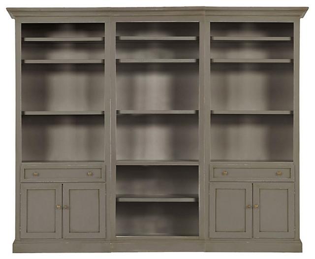 Josephina 5 Piece Flush Wall Unit - Transitional - Storage Cabinets - by Ballard Designs