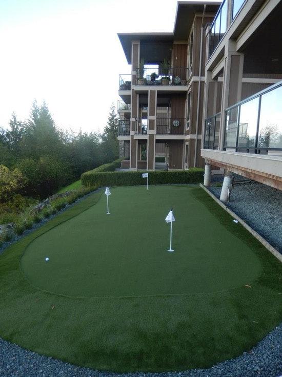 Backyard Putting Green -