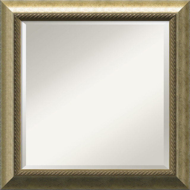 Champagne Wall Mirror traditional-mirrors