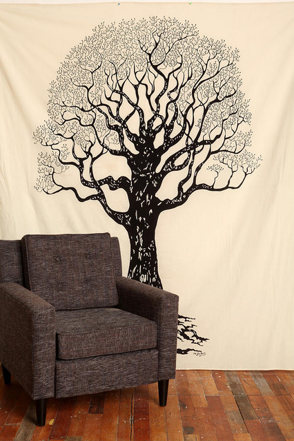 Tree Tapestry eclectic-artwork