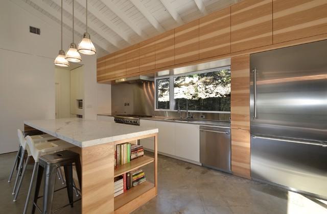 Westlake Total Renovation w Addition contemporary-kitchen