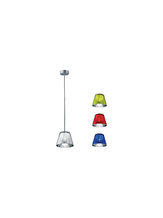 Romeo Babe K-S Pendant Lamp By Flos Lighting - The Romeo Babe K suspension from Flos is an extension of the Romeo K collection.