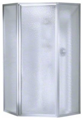 STERLING Economy Neo Angle Corner Shower Kit Kit Includes Neo Angle Door W