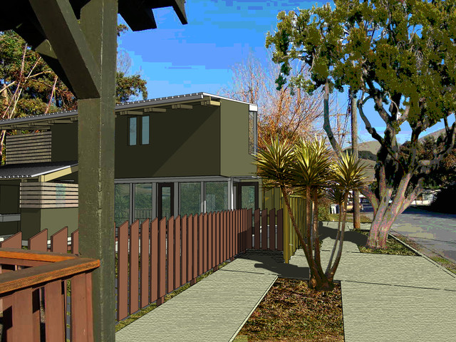 Frakes Alley Cottage contemporary-rendering