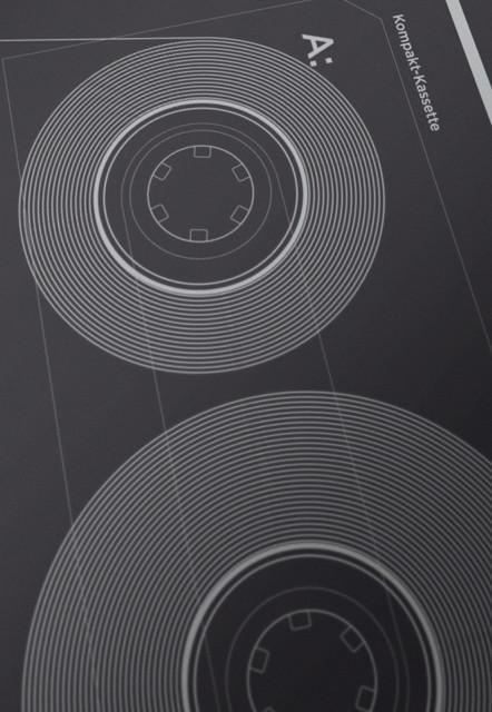 Kompakt-Kassette contemporary-artwork