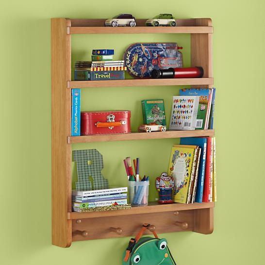 Natural Straight And Narrow Wall Rack contemporary-display-and-wall-shelves